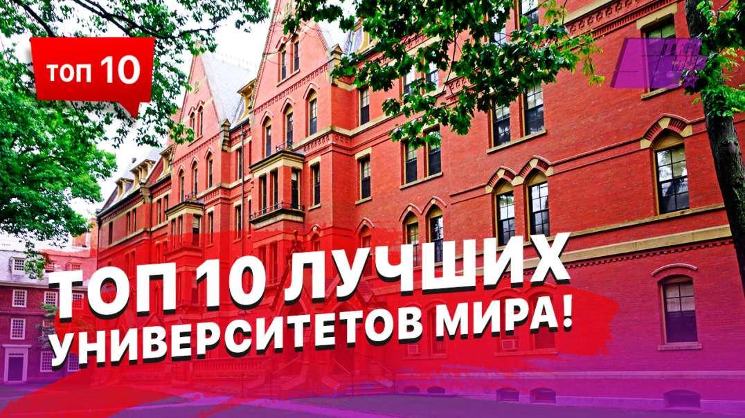 ТОП 10 лучших университетов Мира, Земли, Планеты и Солнечной системы!